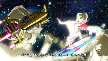 Space Dandyn visuaalinen anti ja animaatio on todella hienoa ja mielikuvituksellista.