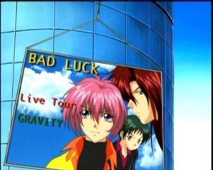 Sarjan edetessä Bad Luckin suosio kasvaa räjähdysmäisesti. Kuvassa Shuuichin lisäksi Hiroshi (oikealla) ja Suguru Fujisaki (takana).
