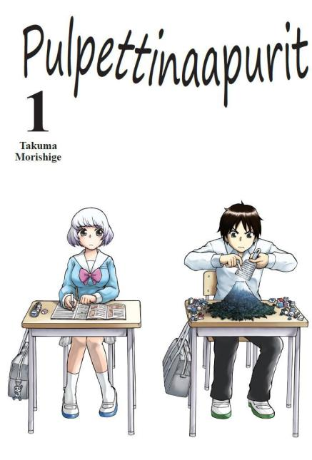 Mangan suomenkielisen version kansikuva
